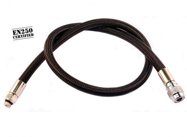 Diveflex Regulator Hose Braided 90cm 35in - Black