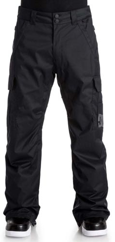 DC Banshee Youth Snow Pant - Black (front)