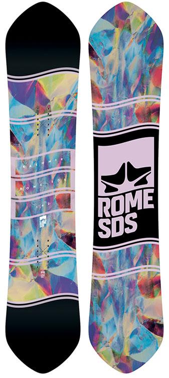 Rome 2019 Kashmir Womens Snowboard