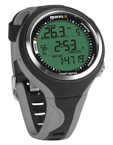 Mares Smart Apnea Wrist Computer - Black/Grey