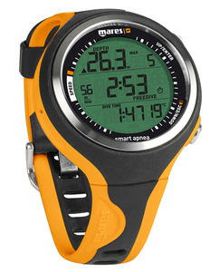 Mares Smart Apnea Wrist Computer - Black/Orange