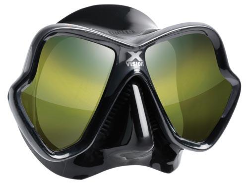 Mares X-Vision Ultra Liquidskin Mask - Gold