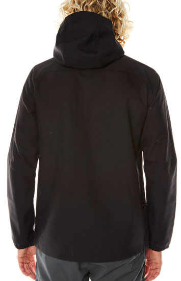 O'Neill Exile 2016 Softshell - Black Out (back)