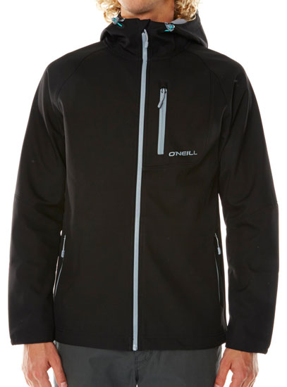 O'Neill Exile 2016 Softshell - Black Out (front)
