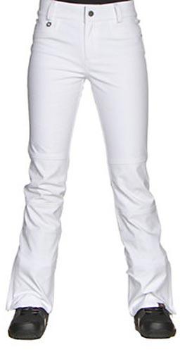 Roxy 2017 Creek Snow Pant - White (front)