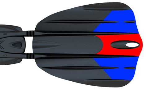 Scubapro Seawing Nova 2 - VARIABLE BLADE GEOMETRY DIAGRAM