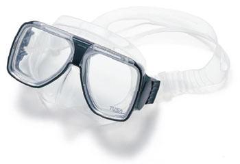 Tusa Liberator Plus Dive Mask - Silver