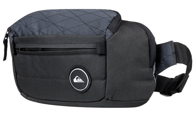 6454ccd0c0fd6 ... Quiksilver Lone Walker II Waist Bag - Black ...