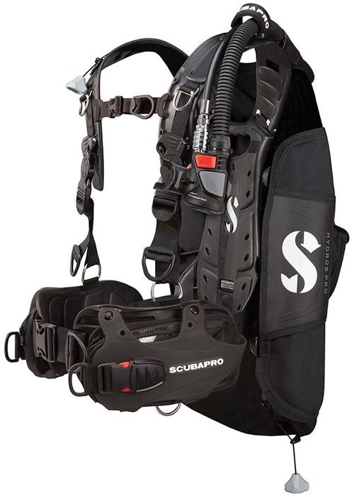Scubapro Hydros Pro BCD Mens Black