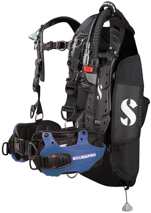Scubapro Hydros Pro BCD Blue