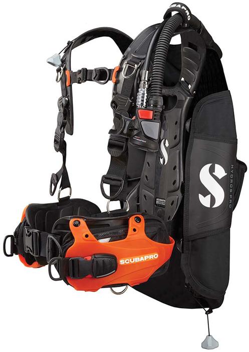 Scubapro Hydros Pro BCD Orange Hi Res