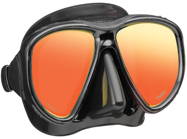 Tusa UM24 Powerview Mirrored Mask - Black