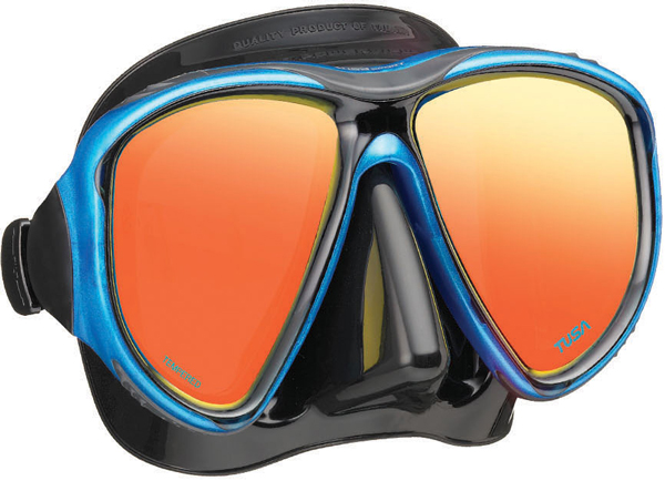 Tusa UM24 Powerview Mirrored Mask - Blue