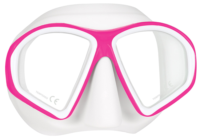Mares Sealhouette Mask - White/Pink