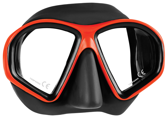 Mares Sealhouette Mask - Black/Red