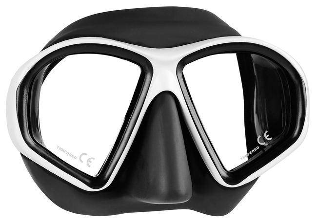 Mares Sealhouette Mask - Black/White