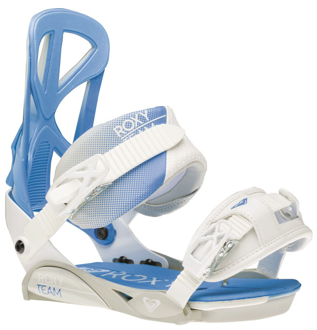 Roxy Team Snowboard Bindings - White