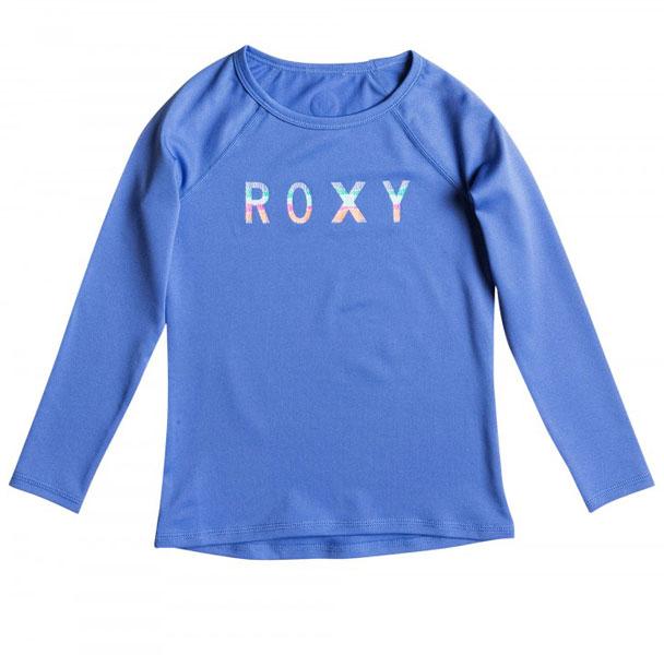Roxy Kids Classic Long Sleeve Rashie - Chambray
