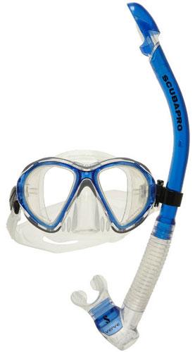 Scubapro Volta Mask and Verve Snorkel - Blue