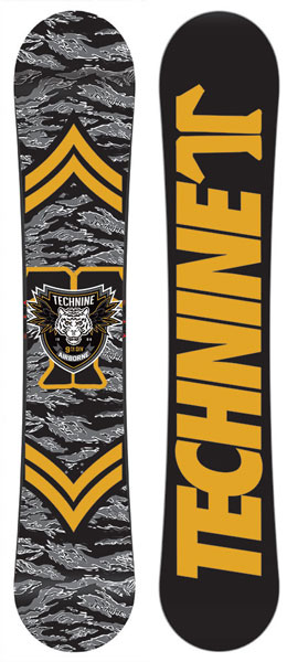 Technine T-Money 2017 Snowboard - Tiger Camo