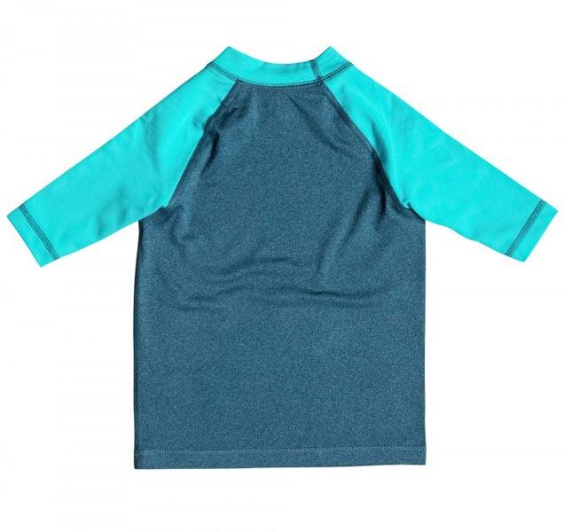 Quiksilver Kids Sunsetter Short Sleeve Rashie (back)