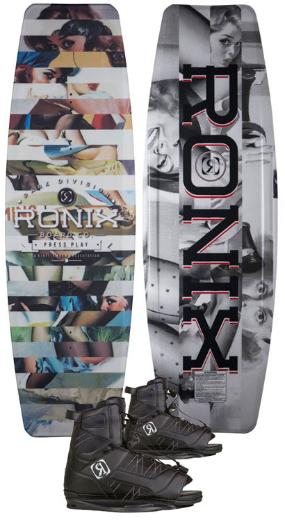 Ronix Press Play/Divide Boots '18