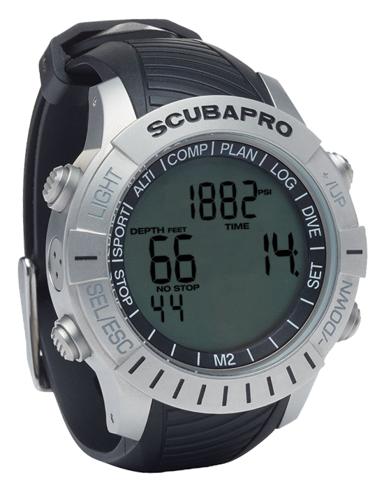 Scubapro Mantis 2 with transmitter