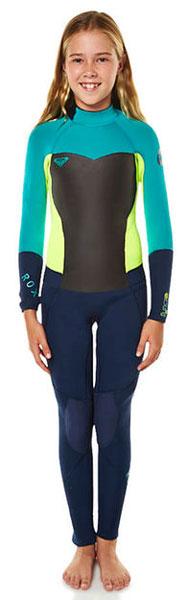 Roxy Girls Syncro 3 2mm full wetsuit - Shop Australia 040db1d63