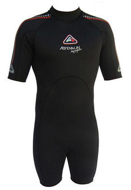 Adrenalin Aquasport Mens 2mm Spring Black