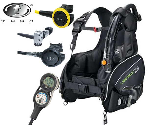 Tusa Liberator Sigma Dive Package