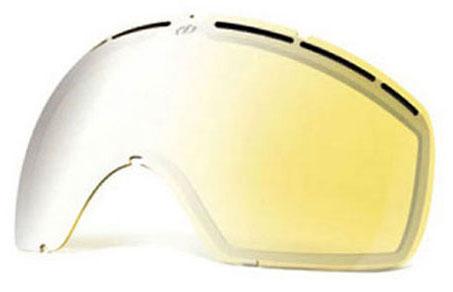 Electric EG2 Lense Yellow/Silver Chrome