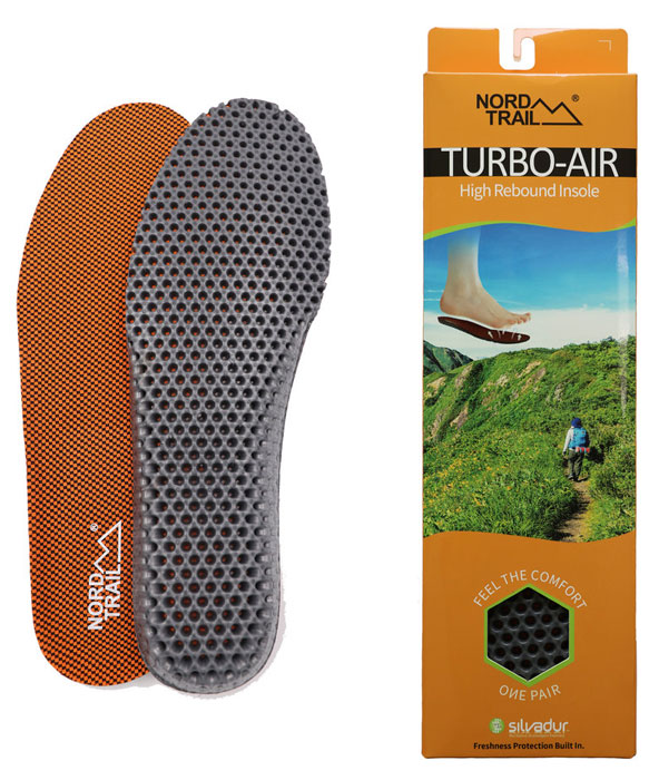Nord Trail Turbo Air High Rebound Insoles