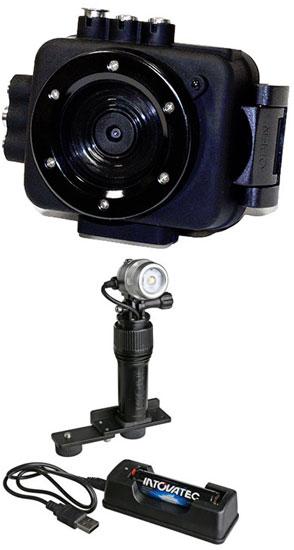 Intova Edge X Camera + Action Video Light