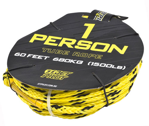 Jetpilot 1P Tube Rope Yellow