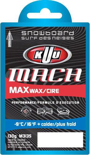 KUU Mach Snowboard Cold Wax