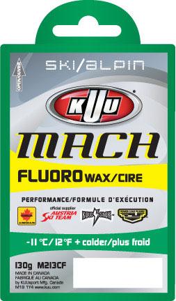 Kuu Mach w/Low Fluoro Alpine Wax