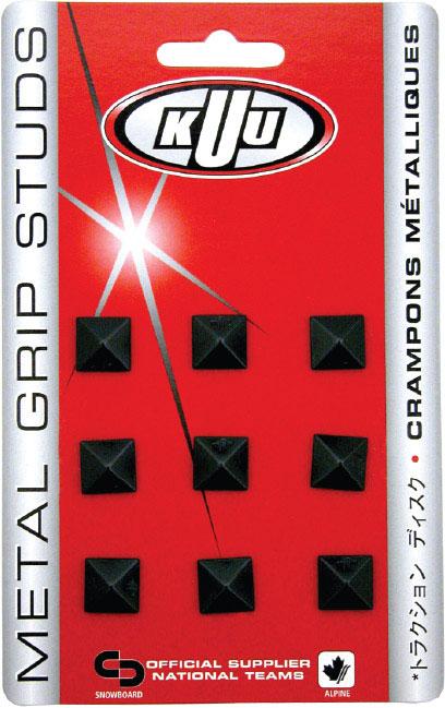 KUU Stomp Pad Metal Grip Black