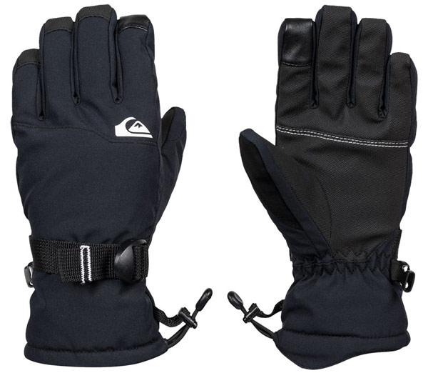 Quiksilver Mission Youth Gloves Black