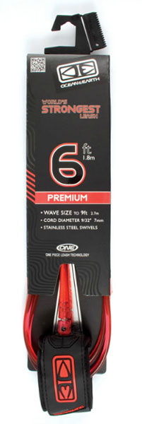 O&E Leash Premium 6'0""