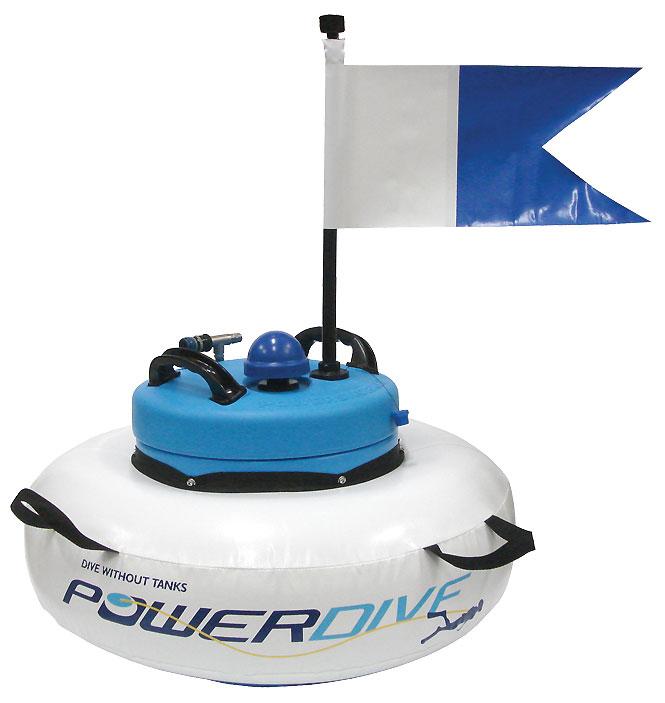 PowerDive PowerSnorkel Hookah