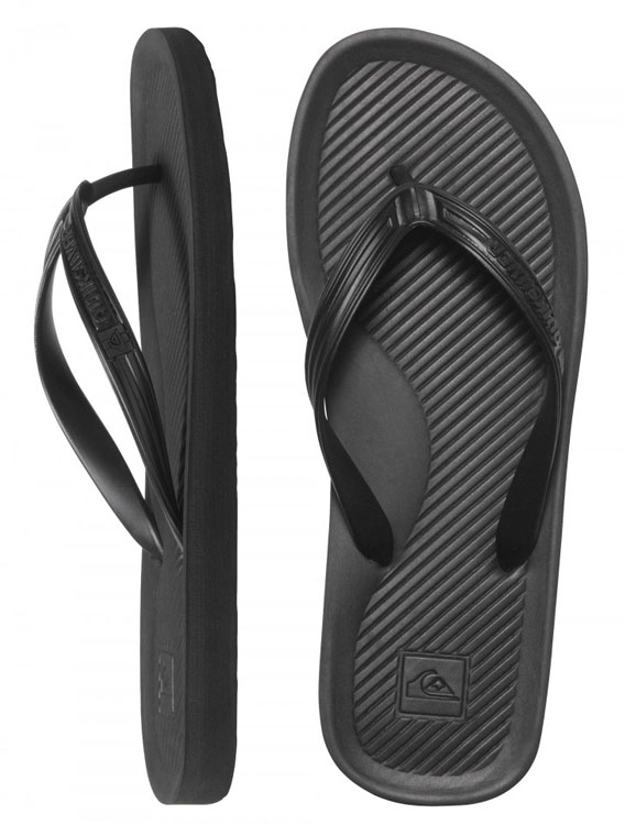 Quiksilver Haleiwa Thongs Black