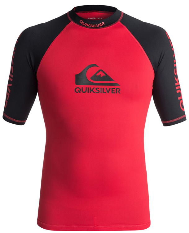 Quiksilver On Tour S/S Red
