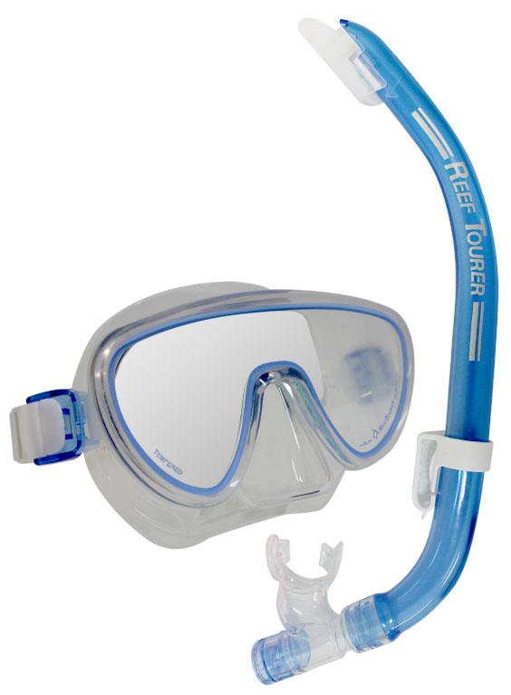 Tusa Sport Ranger Mask & Snorkel Blue