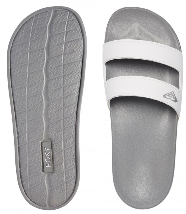 Roxy Sera Slide Sandal Grey