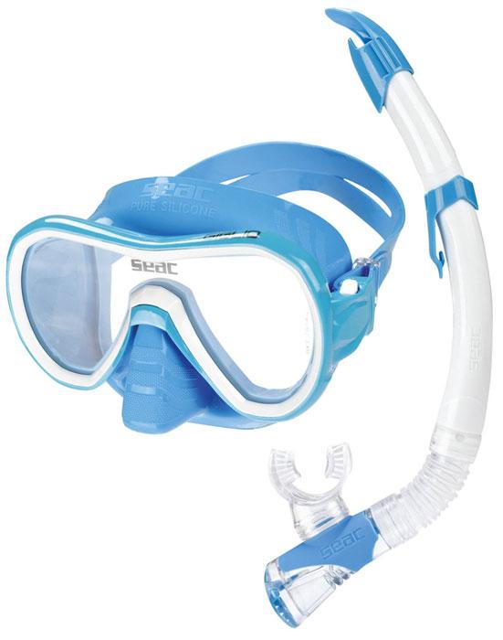 Seac Giglio Mask & Snorkel Blue
