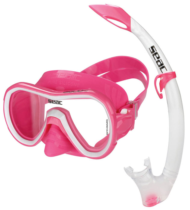 Seac Giglio MD Mask & Snorkel Pink