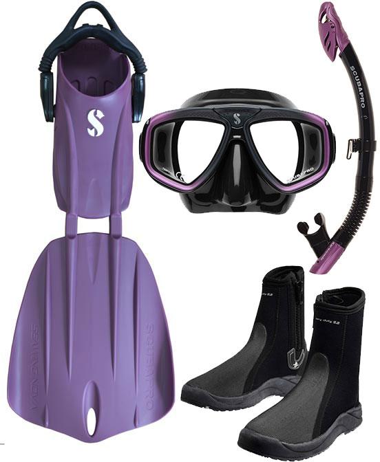 Scubapro Nova 2 Fin Package Purple