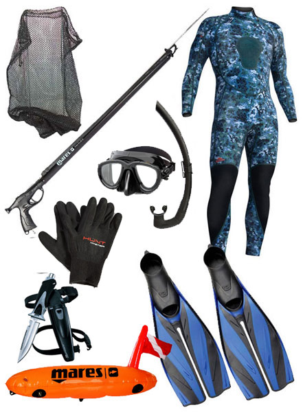 Spearfishing Package #4