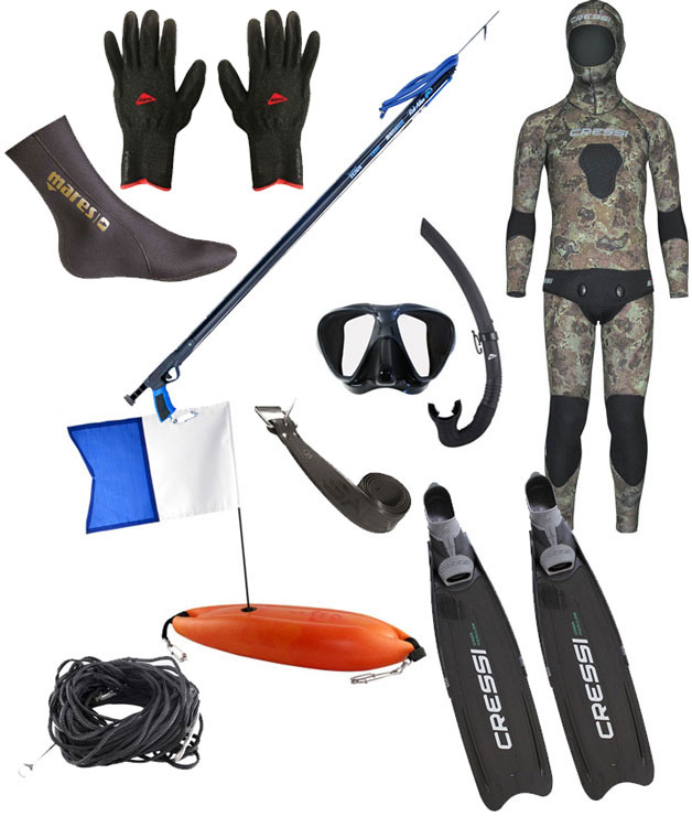 Spearfishing Package The Super Star