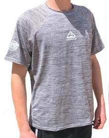 Adrenalin Surf Rash Shirt S/S Grey